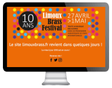 Screen site Limoux Brass